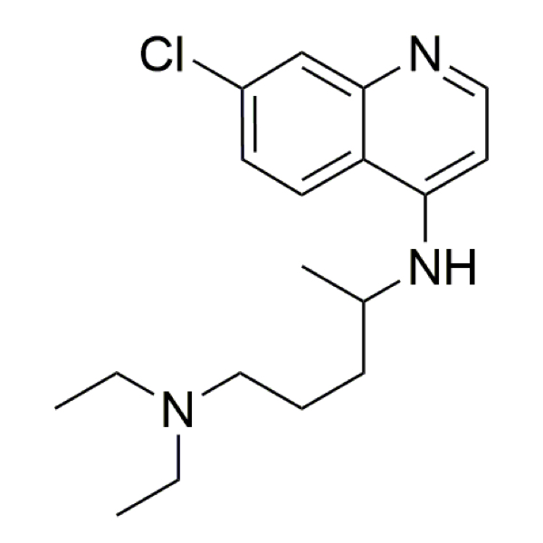 Chloroquine structure