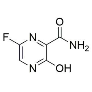 Favipiravir structure